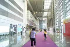Shenzhen, China: Service Hall Convention Center Royalty Free Stock Photography