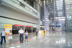 Shenzhen, China: Service Hall Convention Center Royalty Free Stock Image