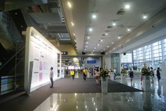 Shenzhen, China: Service Hall of Shenzhen Exhibition Center Stock Image