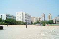 Shenzhen, China: Shajing middle school Royalty Free Stock Photos