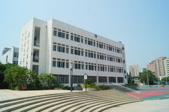 Shenzhen, China: Shajing middle school Stock Photo