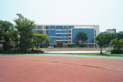Shenzhen, China: Shajing middle school Royalty Free Stock Photo