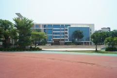 Shenzhen, China: Shajing middle school Royalty Free Stock Photo
