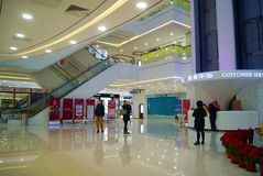 Shenzhen china: shi dai cheng shopping plaza Royalty Free Stock Images
