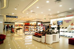 Shenzhen china: shi dai cheng shopping plaza Stock Photos