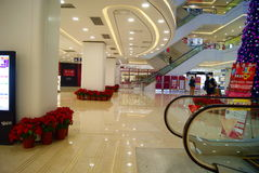 Shenzhen china: shi dai cheng shopping plaza Royalty Free Stock Photos