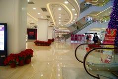 Shenzhen china: shi dai cheng shopping plaza Royalty Free Stock Photos