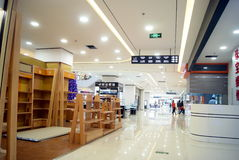 Shenzhen china: shi dai cheng shopping plaza Royalty Free Stock Photo