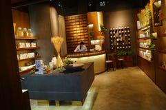 Shenzhen, China: Shop interior landscape Royalty Free Stock Images