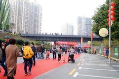 Shenzhen, China: Shopping Festival Stock Photos