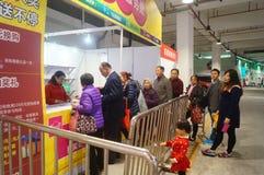 Shenzhen, China: Shopping Festival Service. Shenzhen Baoan, Shopping Festival Service, customers are waiting for advice Royalty Free Stock Photo