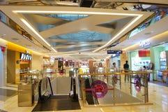 Shenzhen, China: shopping mall interior landscape Stock Image