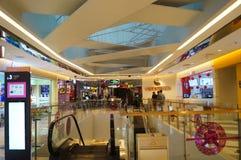 Shenzhen, China: shopping mall interior landscape Stock Photography