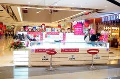 Shenzhen, China: Shopping Plaza Royalty Free Stock Image