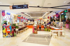 Shenzhen, China: Shopping Plaza Stock Image