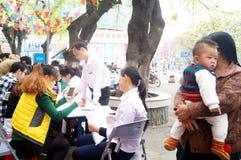 Shenzhen, China: shopping satisfaction survey Royalty Free Stock Images