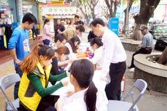 Shenzhen, China: shopping satisfaction survey Royalty Free Stock Photos