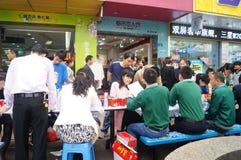 Shenzhen, China: shopping satisfaction survey Royalty Free Stock Image