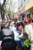 Shenzhen, China: shopping satisfaction survey Stock Photos
