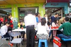 Shenzhen, China: shopping satisfaction survey Royalty Free Stock Photography