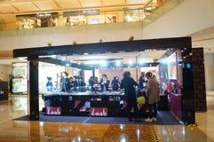 Shenzhen, China: silver jewelry sales Stock Photo