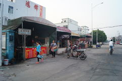 Shenzhen, China: a small restaurant near the factory Stock Images