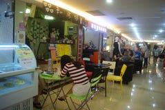 Shenzhen, China: snack bar Royalty Free Stock Image