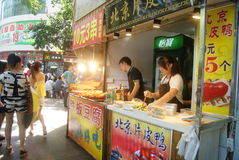 Shenzhen, China: snack bar Stock Photos