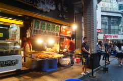 Shenzhen, China: a snack bar Royalty Free Stock Images