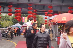 Shenzhen, China: special purchases for the Spring Festival Expo Royalty Free Stock Photography