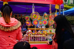 Shenzhen, China: special purchases for the Spring Festival Expo Stock Images