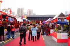 Shenzhen, China: speciale aankopen voor het de Lentefestival Expo Stock Afbeeldingen