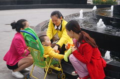 Shenzhen, China: Srta. Beauty en productos promocionales Imagenes de archivo