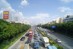 Shenzhen, China: State Road 107 Stock Photography