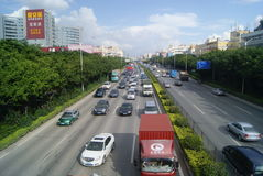 Shenzhen, China: State Road 107 Royalty Free Stock Images