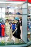 Shenzhen china: store window display in fashion model Royalty Free Stock Image