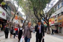 Shenzhen, China: Straßenlandschaft Lizenzfreies Stockbild