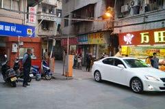 Shenzhen, China: street landscape Royalty Free Stock Image