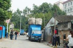 Shenzhen, China: street landscape Stock Images