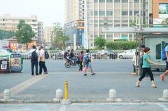 Shenzhen, China: street landscape Stock Image