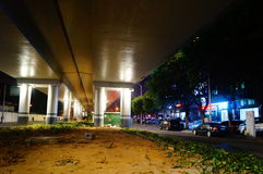 Shenzhen, China: street night landscape Stock Photos