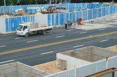 Shenzhen, China: subway construction Stock Images