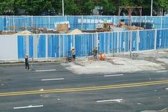 Shenzhen, China: subway construction Stock Photography