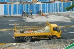 Shenzhen, China: subway construction Stock Photo