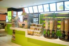 Shenzhen, China: subway shopping malls Food Royalty Free Stock Photos