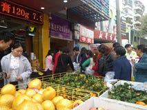 Shenzhen, China: supermarket opening ceremony Stock Photography