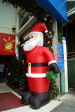 Shenzhen, china: supermarket of santa claus Royalty Free Stock Images