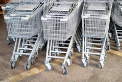 Shenzhen, china: supermarket shopping cart Stock Photo