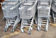 Shenzhen, china: supermarket shopping cart Stock Photo