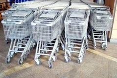 Shenzhen, china: supermarket shopping cart Stock Image